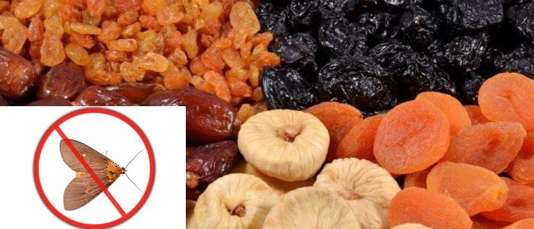 Как хранить сушеные яблоки от моли